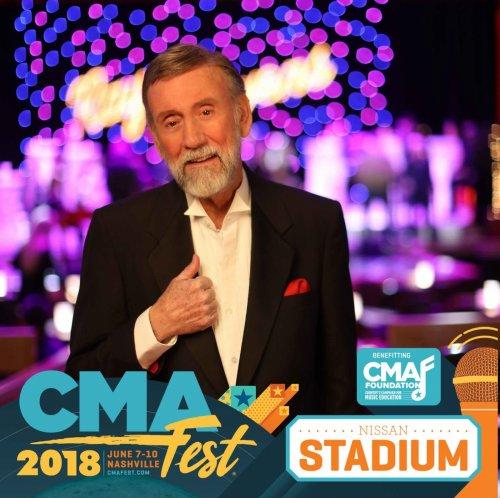 RAY STEVENS SET TO PEFORM NATIONAL ANTHEM DURING  CMA MUSIC FEST NIGHTLY CONCERTS AT NISSAN STADIUM