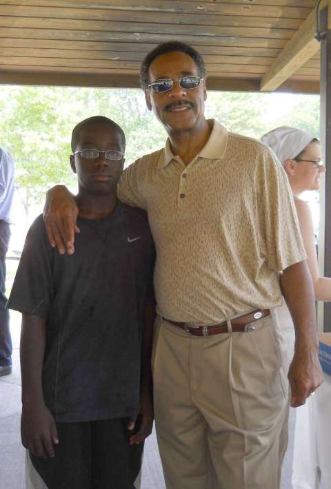 Congressman Cleaver and Jeremi Barnes