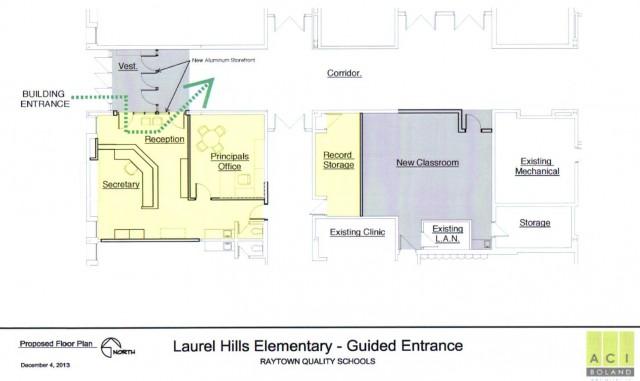 Laurel Hills Guided Entrance