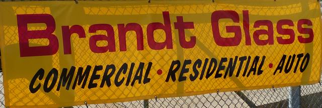 brandt glass sign