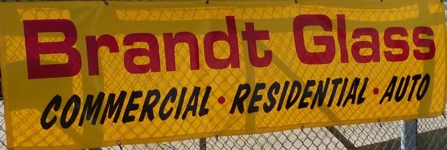 brandt glass sign