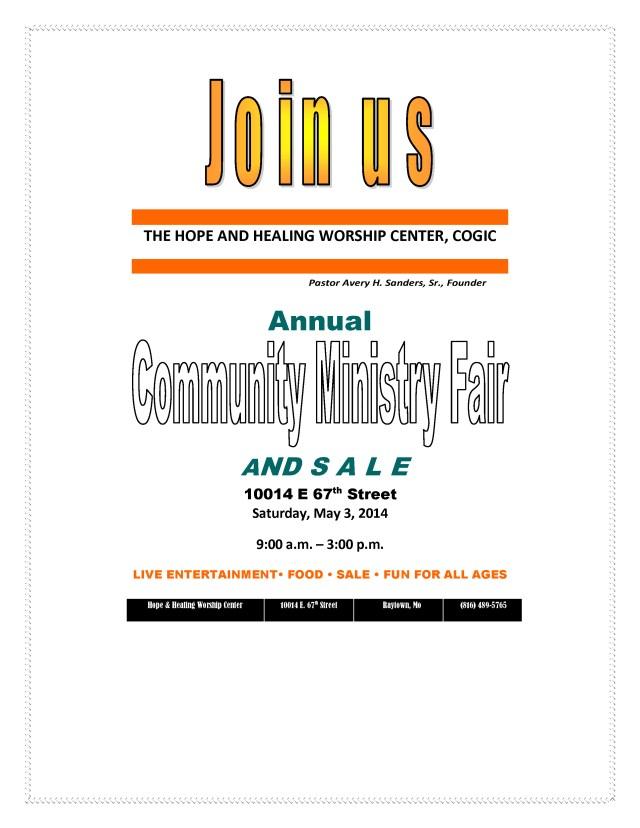 community fair 2014