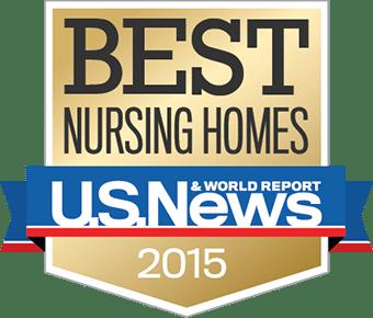 USNEWS Best Nursing Homes 2015 Badge