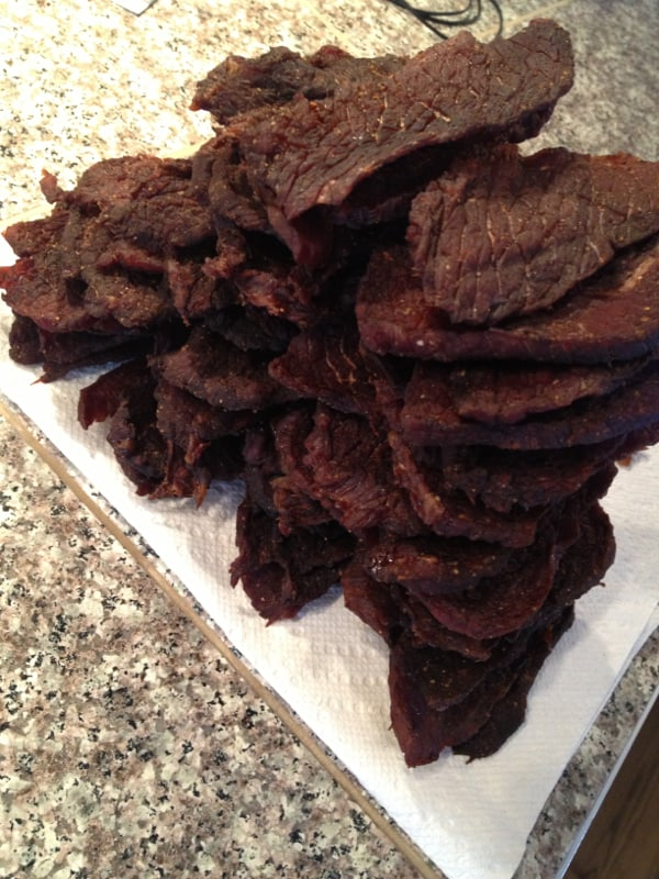 Beef Jerky - Done and ready to bag