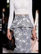 Balenciaga elegance tailored tweed emroiderry sequence print hip funky pop Spring Summer 2014 fashionweek paris london milan newyork nyc-7