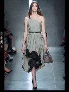 Bottega Veneta dark gothic elegant classic tailored ruffles earthy funky pop Spring Summer 2014 fashionweek paris london milan newyork nyc-3