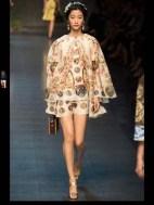 Dolce & Gabbana collection theme roman romanian empire Fashion Week Spring Summer 2014 paris milan london nyc newyork -93