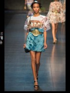 Dolce & Gabbana collection theme roman romanian empire Fashion Week Spring Summer 2014 paris milan london nyc newyork -97