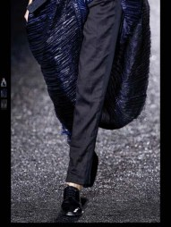 Haider Ackermann Couture evening Fashion Week 2014 Spring Summer Style.com white ready to wear evening gowns dresses milan paris london-18