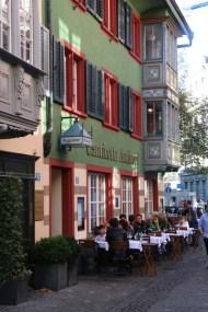 24 hours in Zurich Switzerland red and green