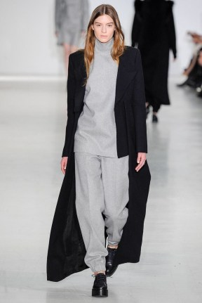 Long black straight cut coat Favorite coats for this fall winter 2014 2015 ready to wear collections