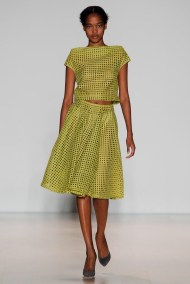 lime Head to toe one Mono color winter ready to wear