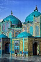 The birth date of Prophet Mohammad PBUH Eid Mawled Al Nabawi Beautiful Islamic Art and Architecture and Mosques Blue mosque and colorful