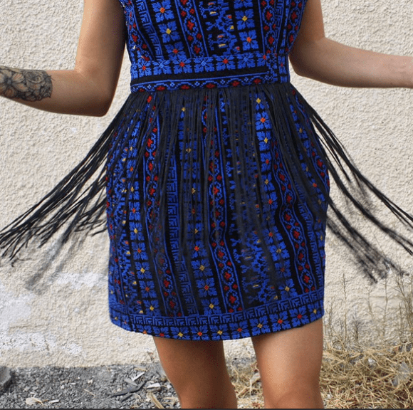 Fringes for days 👯💙 shop several fringed styles from the #AllThingsMochi #PalestineCollection online #ShopNow www.allthingsmochi.com