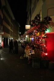 Redlight street nightlife in Zurich