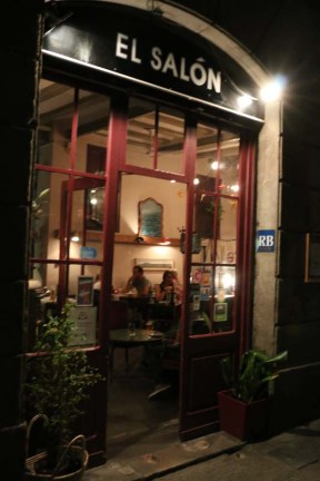 Restaurant shop at gothic quarter