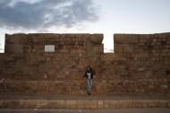 The grand wall of Akka Palestine Israel