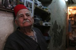 A portrait of an old man in Nazareth
