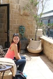 An old house occupied by Israeli in Yafa Yafo Jaffa