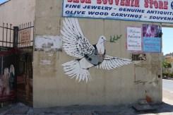 Banksy graffiti art in streets