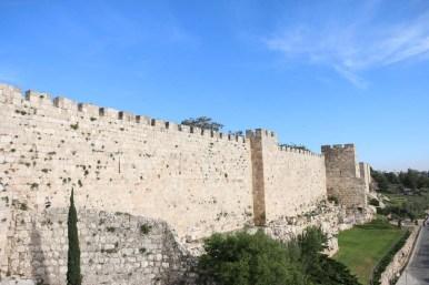 Jerusalem Old city and wall سور القدس القديم
