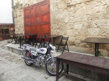 walking between the old houses and streets of Jbeil Lebanon