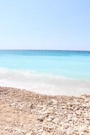 The beach and sea in Lebanon