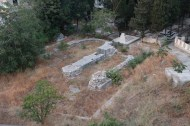 old roman findings under city in tripoli Lebanon
