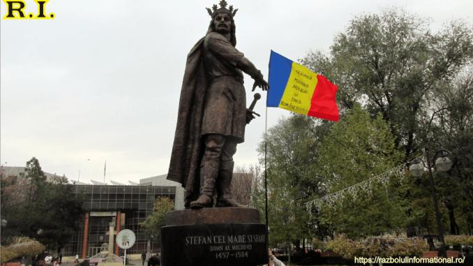 Statuie cu Ștefan cel Mare și Sfânt