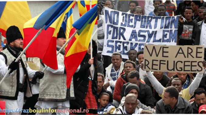 înlocuirea românilor
