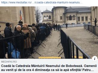"ScreenShot 20190106172610 - Mediafax prinşi cu ""Fake News"" de Boboteaza"