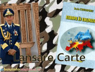 """Generalul Teodoru - Lansare de Carte """"Europa in Colimator"""" - Radu Theodoru"""