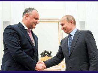Dodon si Putin