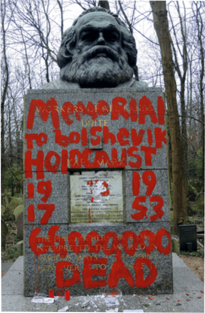 karl - Monument lui Karl Marx vandalizat, ce nu spune presa ?