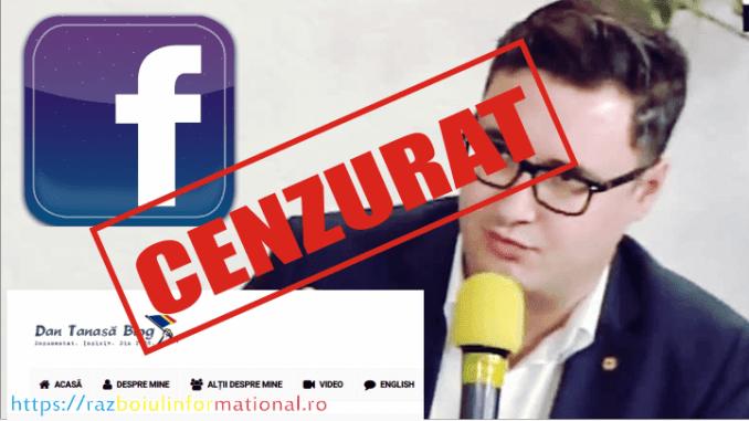 Dan Tanasă cenzurat