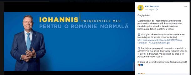 """ScreenShot 20190830182742 1024x402 - Klaus Iohannis, acuzat că a """"furat"""" startului campaniei pentru prezidenţiale"""