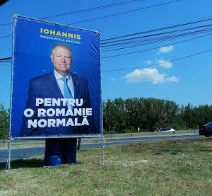 """bulă 1 300x277 - Klaus Iohannis, acuzat că a """"furat"""" startului campaniei pentru prezidenţiale"""
