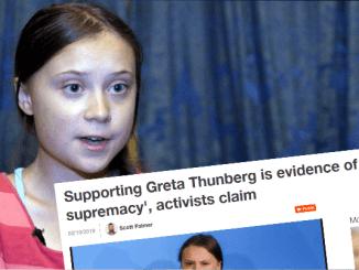 Greta Thunberg e prea alba