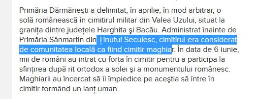 tinut 5754 - Cum funcţionează maşina propagandei revizioniste maghiare. Cazul Hirado