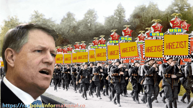 """O dictatură """"nazistă"""" în România"""