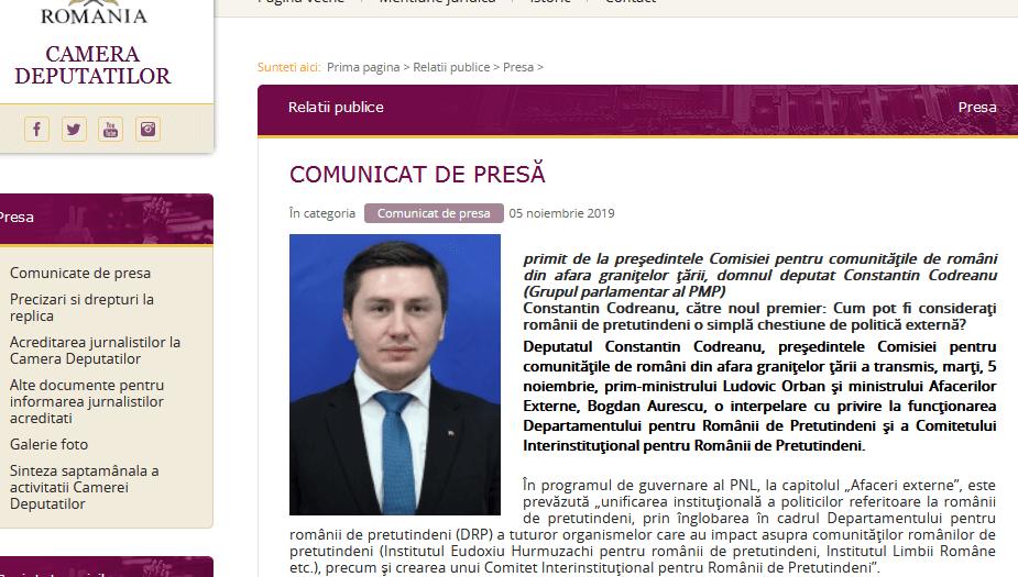 ScreenShot 20191107003854 - Guvernul Ludovic Orban loveşte mai întâi în românii din diaspora