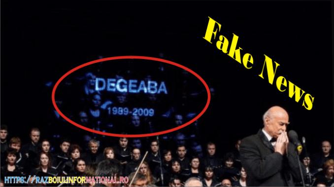 Tudor Gheorghe Fake News