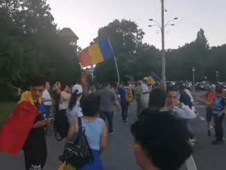 Piaţa Victoriei protest