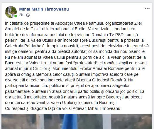 ScreenShot 20201026025036 300x251 - Pe 25 octombrie, de Ziua Armatei Române patrioţii români au fost în Valea Uzului