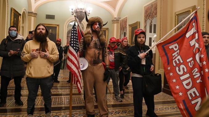 Cine a intrat în clădirea Capitoliului din US?