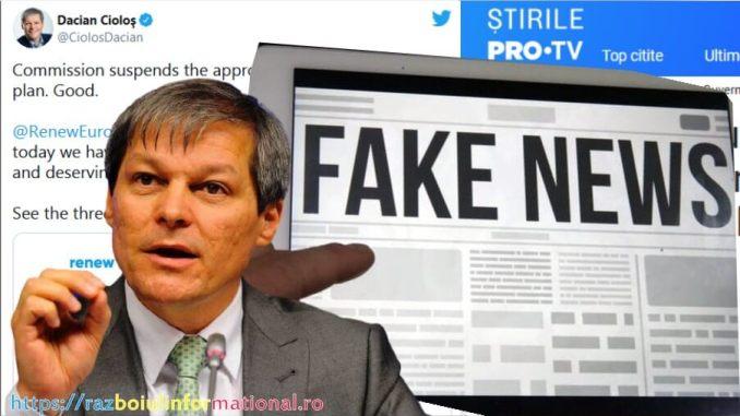 Fake News-ul cu Dacian Cioloș privind PNRR-ul Ungariei