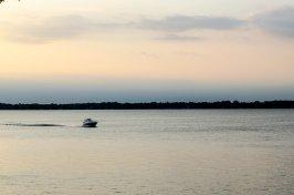 Boating on Lake Wawasee