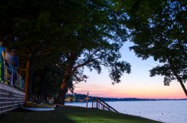 Sunset Lights on Lake Wawasee