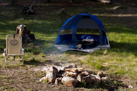 A simple campsite
