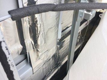Door soundproofing detail